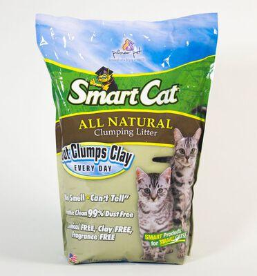 SmartCat All Natural Clumping Cat Litter, 10-lb
