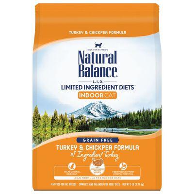 Natural Balance LID Indoor Turkey  Chickpea