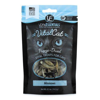 Vital Essentials Vital Cat Treats Minnows Freeze-Dried Cat Treats, 0.5-oz bag