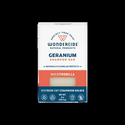 Wondercide 'FLEA amp;amp; TICK' Natural Shampoo Bar with Citronella amp;amp; Geranium for Dogs amp;amp; Cats 4.3z