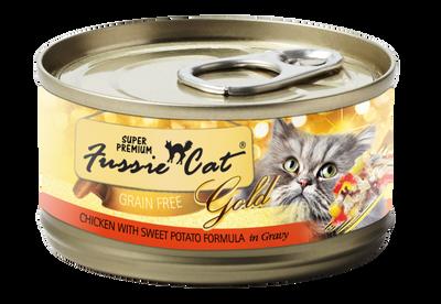 Fussie Cat Super Premium Chicken with Sweet Potato in Gravy