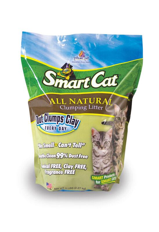 SmartCat All Natural Clumping Cat Litter, 5-lb