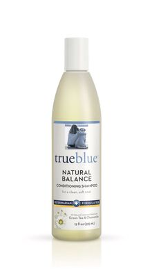 TrueBlue Pet Products Natural Balance Conditioning Dog Shampoo, 12-oz bottle