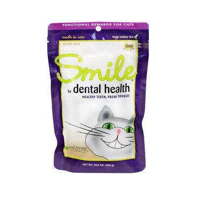 Inclover Smile Feline Dental Soft Chew Cat Supplement, 2.1-oz