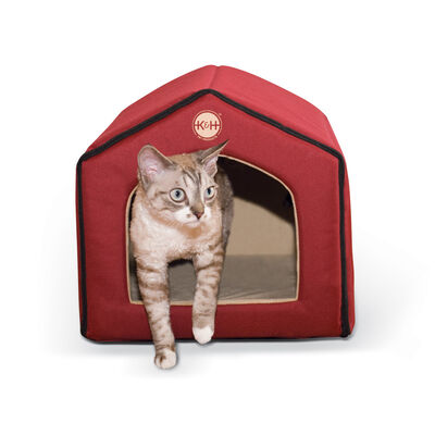 KH Pet Products Indoor Pet House, Red