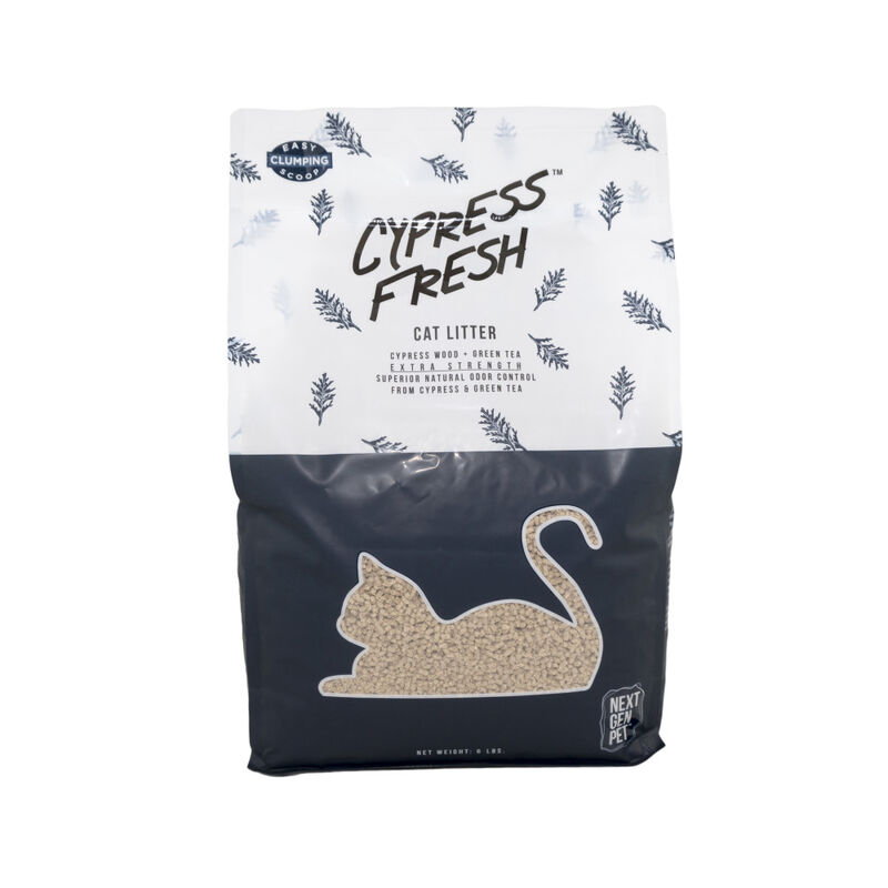 Next Gen Pet Cypress Fresh Cat Litter, 5.1-lb