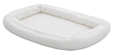 MidWest Quiet Time Deluxe Double Bolster Pet Bed, Fleece, 30-in