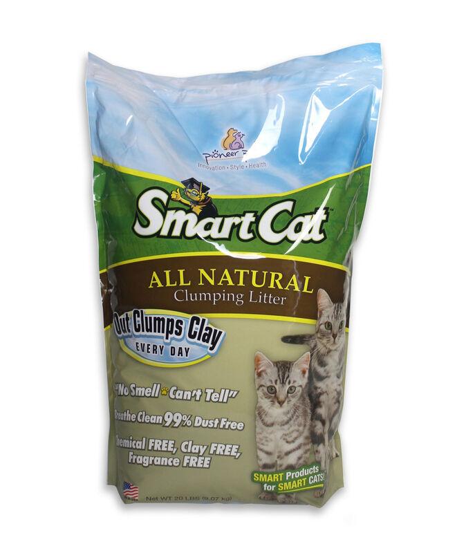 SmartCat All Natural Clumping Cat Litter, 20-lb