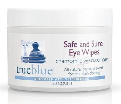 TrueBlue Pet Products Safe  Sure Dog Eye Wipes, 50-count