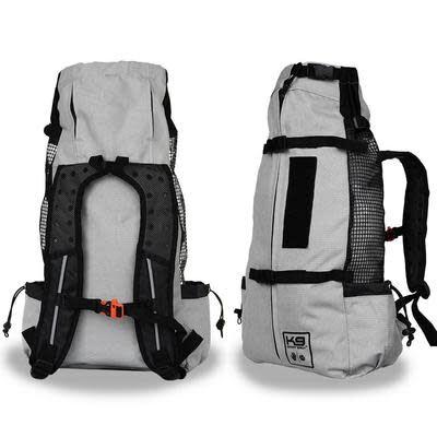 K9 Sport Sack Air Forward Facing Backpack Dog Carrier, Light Grey, Medium