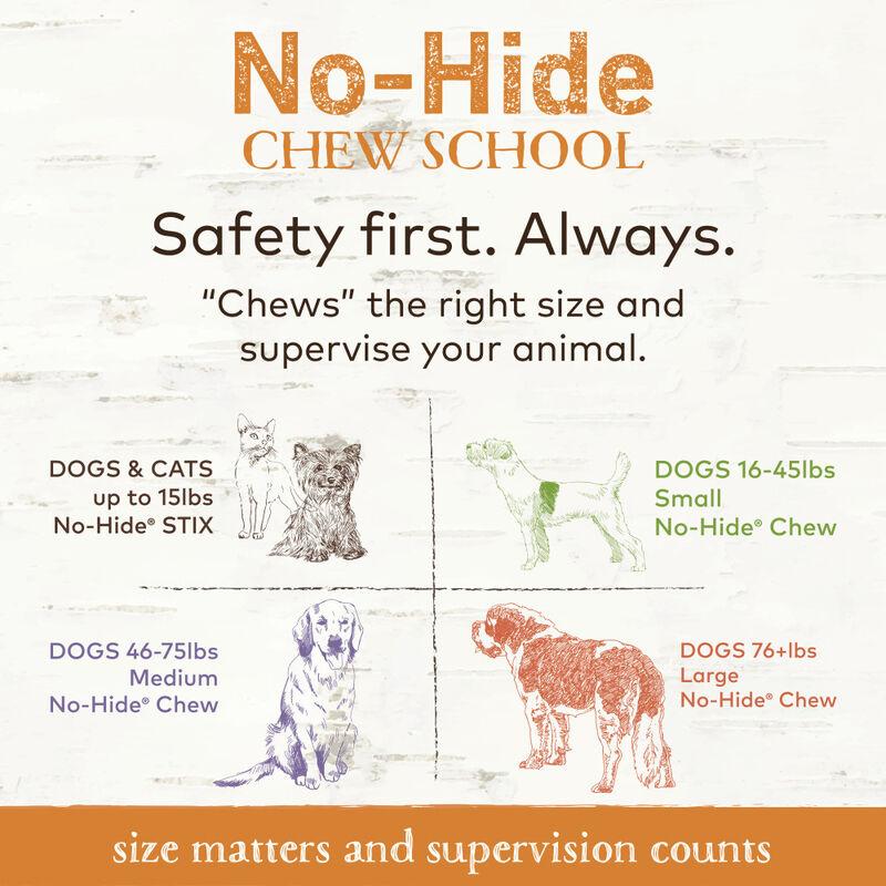 Earth Animal No-Hide Chicken Chew Dog Treats, 4-in