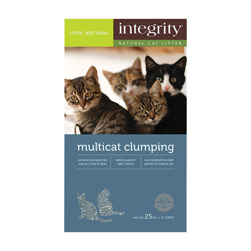 Integrity Multi-Cat Clumping Cat Litter, 25-lb