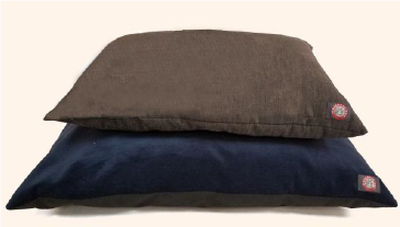 Majestic Pet Pillow Bed, Assorted Colors, 27-in x 36-in