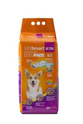 Wizsmart Ultra Dog Pad, 30-count