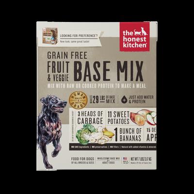 The Honest Kitchen Base Mix Grain Free Fruit  Veggie (Preference)