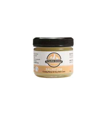 Farm Dog Naturals Salvation Dry Skin and Crusty Nose Salve Topical Remedy for Dogs, 2-oz bottle