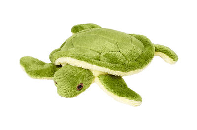 Fluff  Tuff Shelly Turtle Dog Toy, 4-in