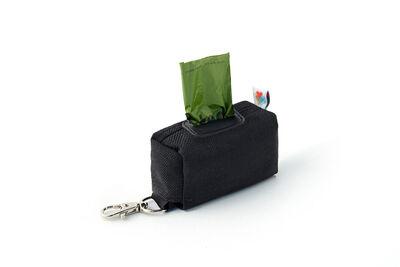 Wildebeest Funston Baggie Dog Poop Bags Dispenser, Black