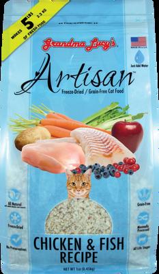 Grandma Lucy's Artisan Chicken  Fish