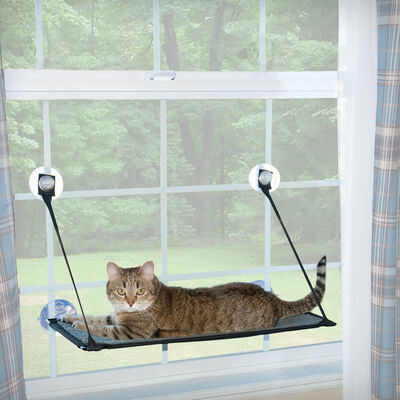 KH Pet Products Kitty Sill EZ Window Mount Cat Bed
