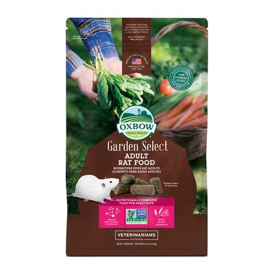 Oxbow Garden Select Adult Rat Food, 2.5-lb