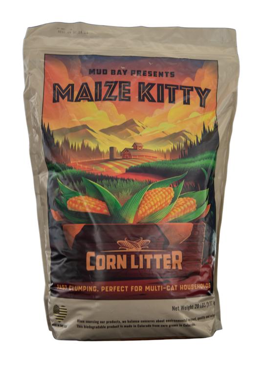 Mud Bay Maize Kitty Corn Cat Litter, 20-lb