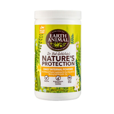Earth Animal Nature's Protection Flea  Tick Daily Internal Powder, 1-lb