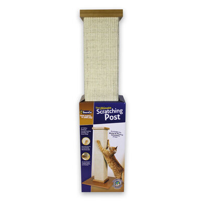 SmartCat The Ultimate Cat Scratching Post, 32-in