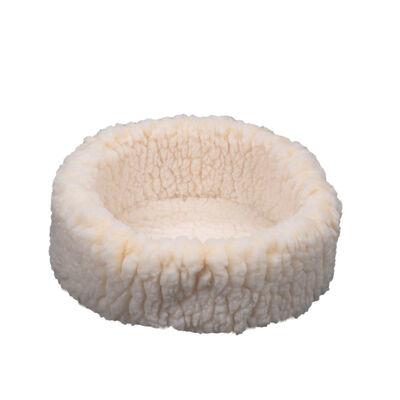 HuggleHounds HuggleSnuggler Cat Bed, 15-in