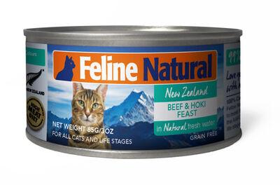 Feline Natural Beef And Hoki